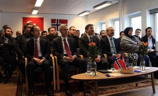 UETD Norveç'in Yeni Ofisi Açıldı
