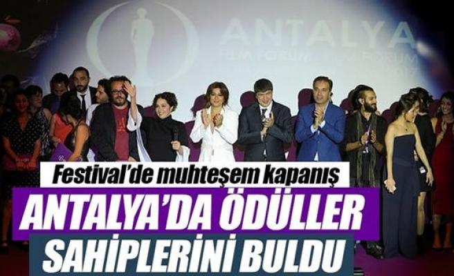 Uluslararası Antalya Film Festivali'nde ödüller belli oldu