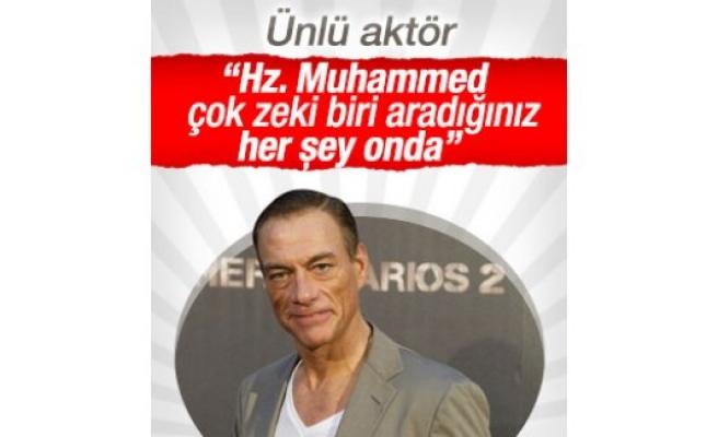 Van Damme: Aradığınız her şey Hz. Muhammed'de