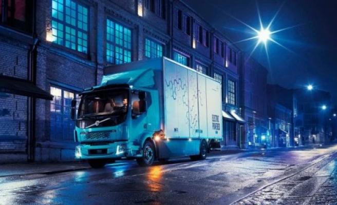Volvo'nun elektrikli kamyonu FL Electic ortaya çıktı!