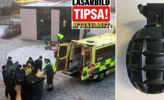Vårby Gård'da bir kişinin ölümüne neden olan o bomba