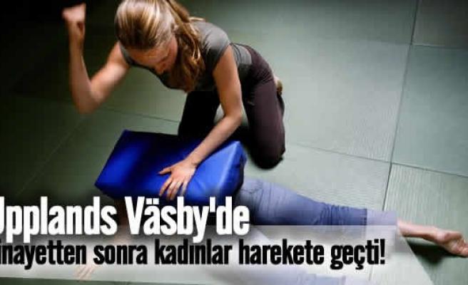 Väsby cinayetinden sonra kadınlar dövüş sporlarına başladı
