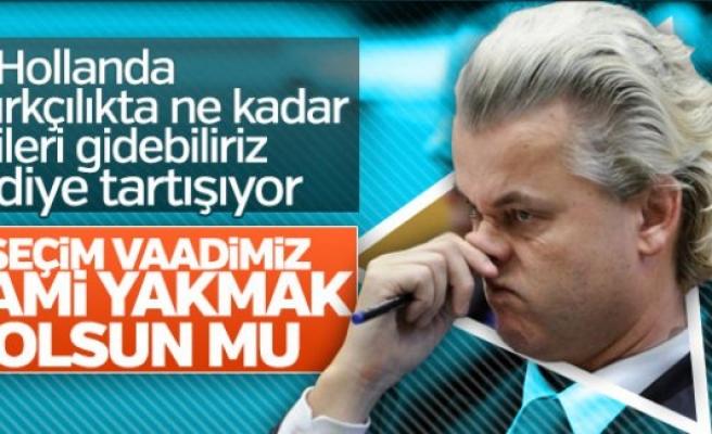 Wilders'in adayından camileri yakma vaadi