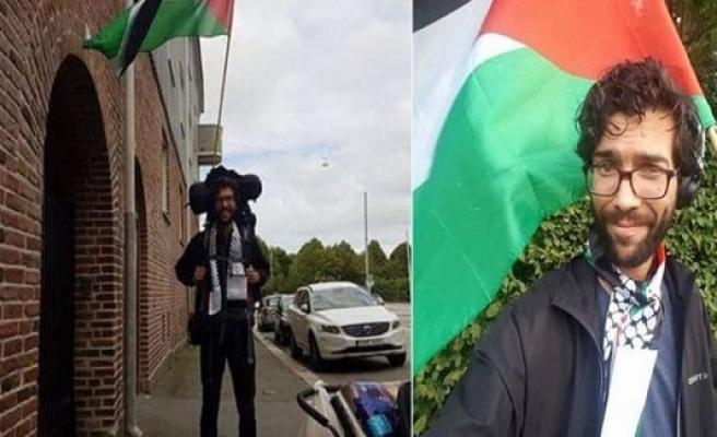 Yahudi Asıllı İsveçli Aktivist Ladra Yürüyerek Filistin'e Gidiyor