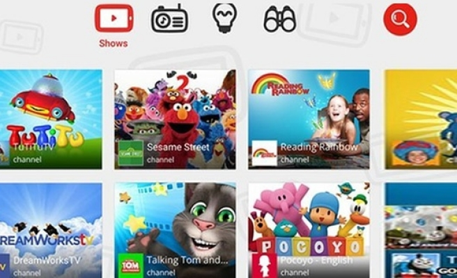 YouTube'dan çocuklar için özel uygulama