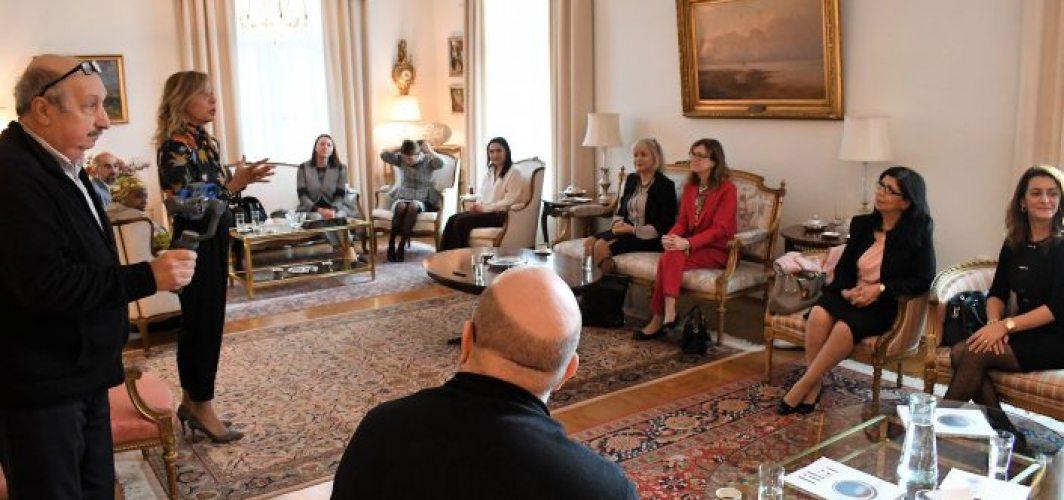 Türkiye'nin Stockholm Büyükelçiliği'nde 'Fika' tanıtıldı