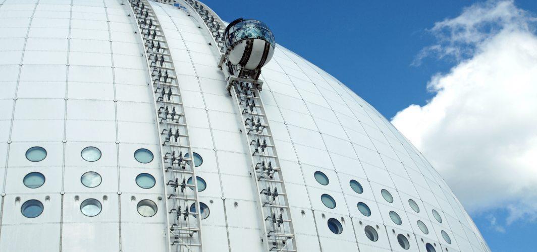 Globen'deki SkyView: Dünyanın nefes kesen asansörleri arasında