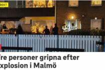 İsveç'in Malmö kentinde 3 patlama