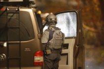 Sundbyberg'de polise silahla direnen kişi 26 saat sonra teslim oldu