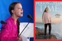 TIME 16 yaşındaki iklim aktivisti İsveçli Greta Thunberg'ı yılın kişisi seçti