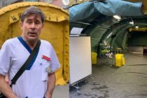 İsveç'te koronavirüs çadırları kuruldu