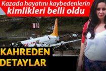 Sabiha Gökçen'deki uçak kazasında hayatını kaybedenlerin kimlikleri belli oldu