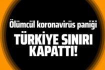 Türkiye ölümcül koronavirüs nedeniyle İran'la olan sınırlarını kapattı