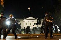 'Nefes alamıyorum' feryadı: ABD başkenti Washington'da sokağa çıkma yasağı ilan ettirdi
