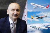 Ulaştırma Bakanı: Dış hat uçuşlarının yapılacağı ülke ve tarihleri açıkladı