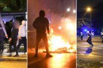 Malmö'de polis tarafından gözaltına alınan tüm göstericiler serbest bırakıldı