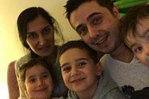 3 çocuğu elinden alınan aileden umutlu bekleyiş! FOTO