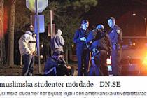 3 Müslüman genç öğrenci öldürüldü