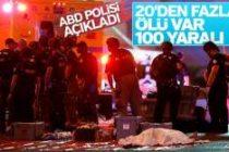 ABD saldırı 20 kişi öldü