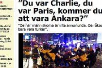 """Aftonbaldet: """"Charlie oldunuz. Paris oldunuz. Peki Ankara olacak mısınız?"""""""