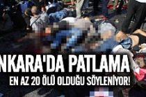 Ankara'da büyük patlama! Ölü ve yaralılar var