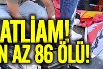 Ankara'da kara gün ölü sayısı yüze yaklaştı!