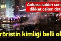 Ankara'ya saldıran teröristin kimliği belli oldu