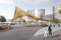 BIG'den İsveç'te Tren İstasyonu Tasarımı