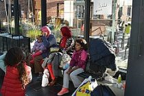 Danimarka'daki sığınmacılar İsveç'e geldi