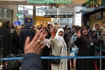 Diyanet Umre yolcuları İsveç'ten Kutsal topraklara gitti
