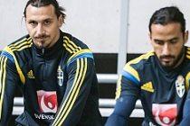 Erkan Zengin ve İbrahimovic antrenmanda şakalaştı