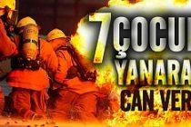Facia! 7 çocuk feci şekilde yanarak can verdi!