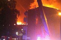 Göteborg'da 70 ev yandı