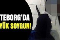 Göteborg'da büyük silahlı soygun!