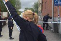 Göteborg'de bir kadın vuruldu