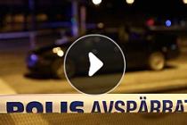 Göteborg'da mafya hesaplaşması kanlı bitti....VİDEO