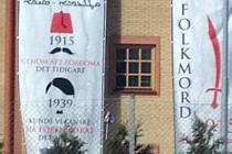 Hallunda Kilise Duvarında Türkiye'ye çirkin benzetme