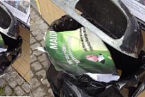 İGMG'nin Maide-i Kur'an programı afişlerine Tensta'da saldırı