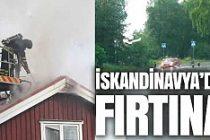 İskandinavya ülkeleri yağmurun pençesinde
