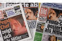 İslam karşıtı  Hitler pozu nedeniyle istifa etti