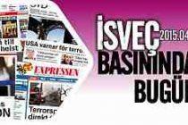 İsveç Basınında bugünün önemli haberleri