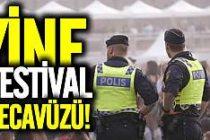 İsveç festivali yine tecavüzle bitti