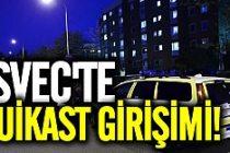 İsveç'in o bölgesinde bir bıçaklama birde suikast girişimi