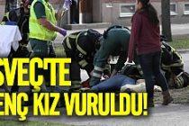 İsveç'te 18 yaşındaki genç kız vuruldu!