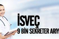 İsveç'te 9 bin sekreter lazım