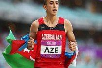 İsveç'te, Azerbaycanlı atlet 30 yıllık rekor kırdı