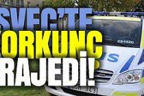 İsveç'te korkunç olay: annesini babasını ve kendini öldürdü