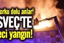 İsveç'te feci yangın!