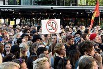 İsveç'te Göçmen Karşıtı Parti Protesto Edildi