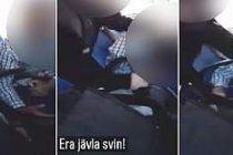 İsveç'te otobüs şoförü, Suriyeli sığınmacıyı böyle dövdü